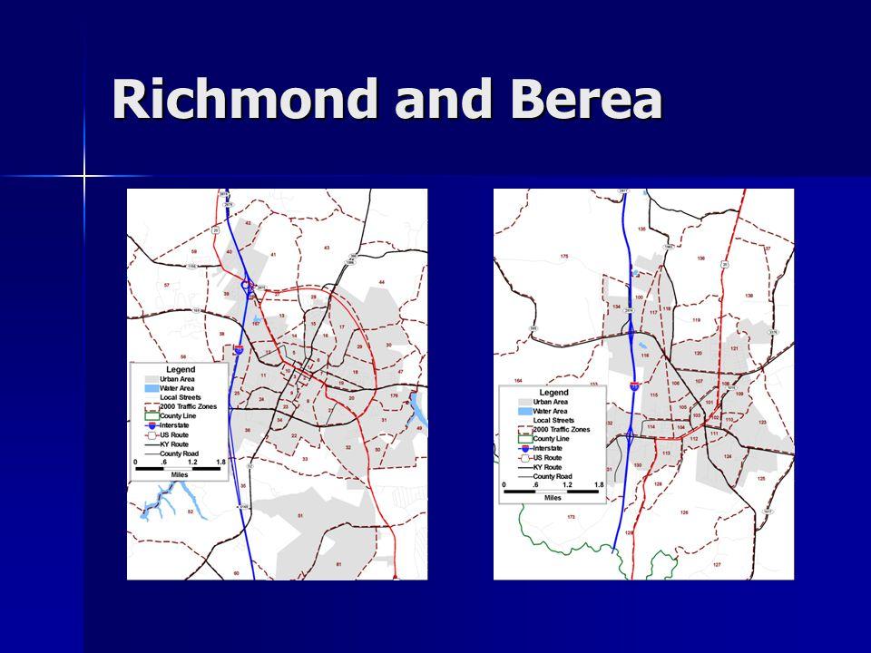 Richmond and Berea