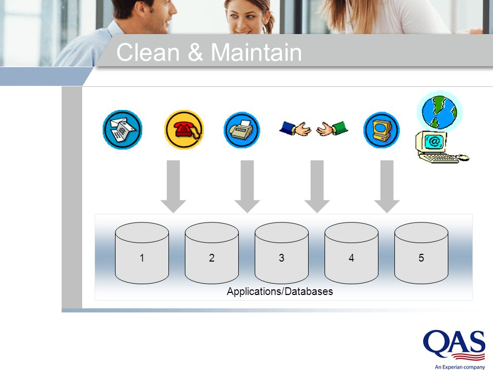 Clean & Maintain 12345 Applications/Databases