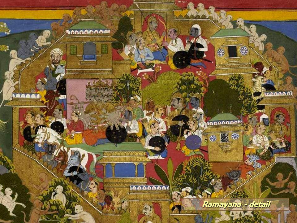 Ramayana - detail