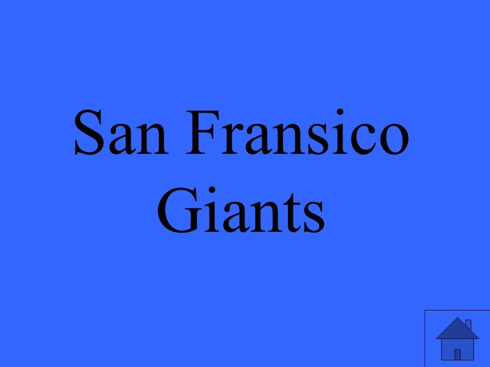 San Fransico Giants