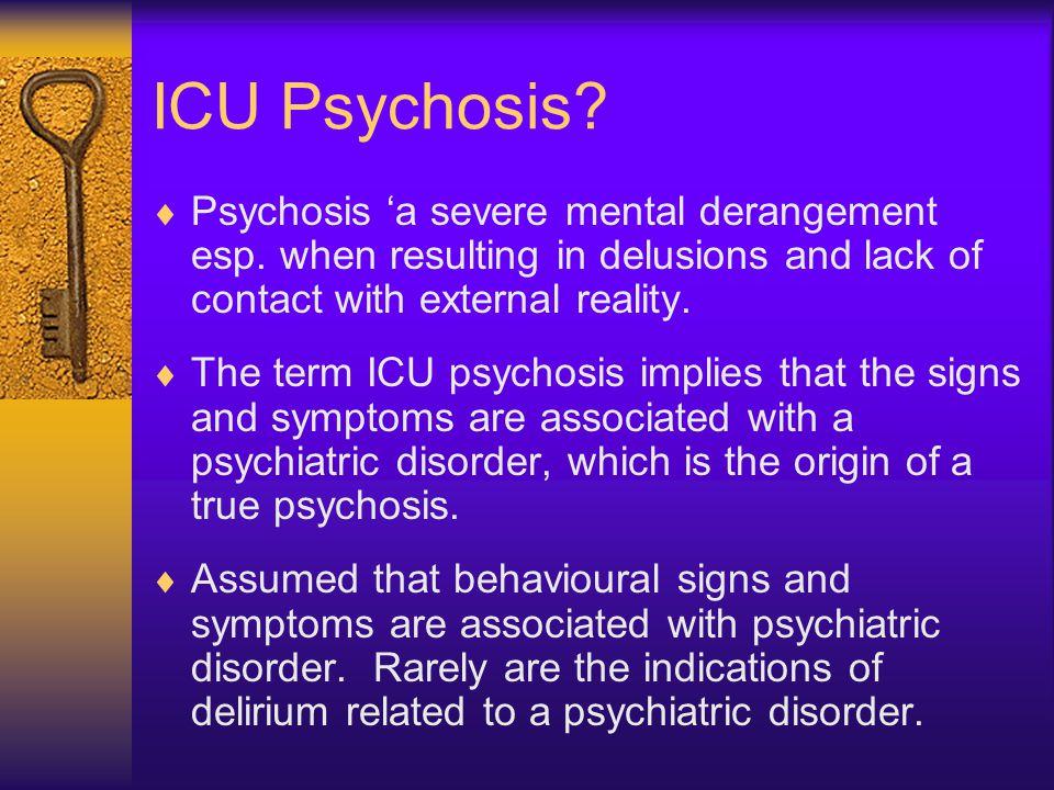 ICU Delirium.