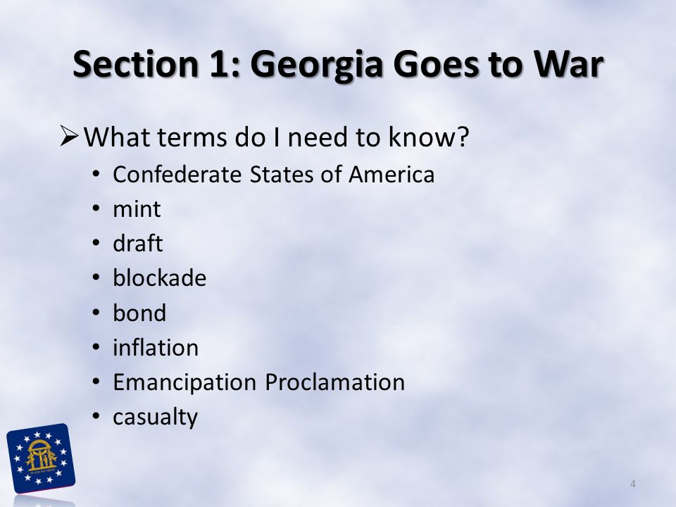 Georgia in the Civil War  An important debate in the United States since the Constitution was written was how much power each state should have.