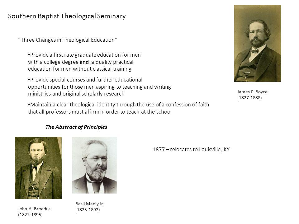 Southern Baptist Theological Seminary James P.