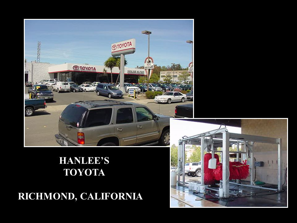 HANLEE'S TOYOTA RICHMOND, CALIFORNIA