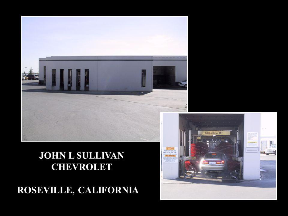 JOHN L SULLIVAN CHEVROLET ROSEVILLE, CALIFORNIA