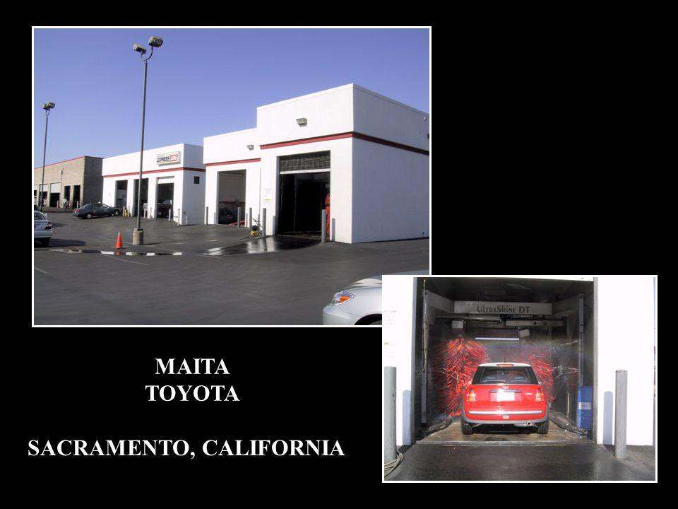MAITA TOYOTA SACRAMENTO, CALIFORNIA