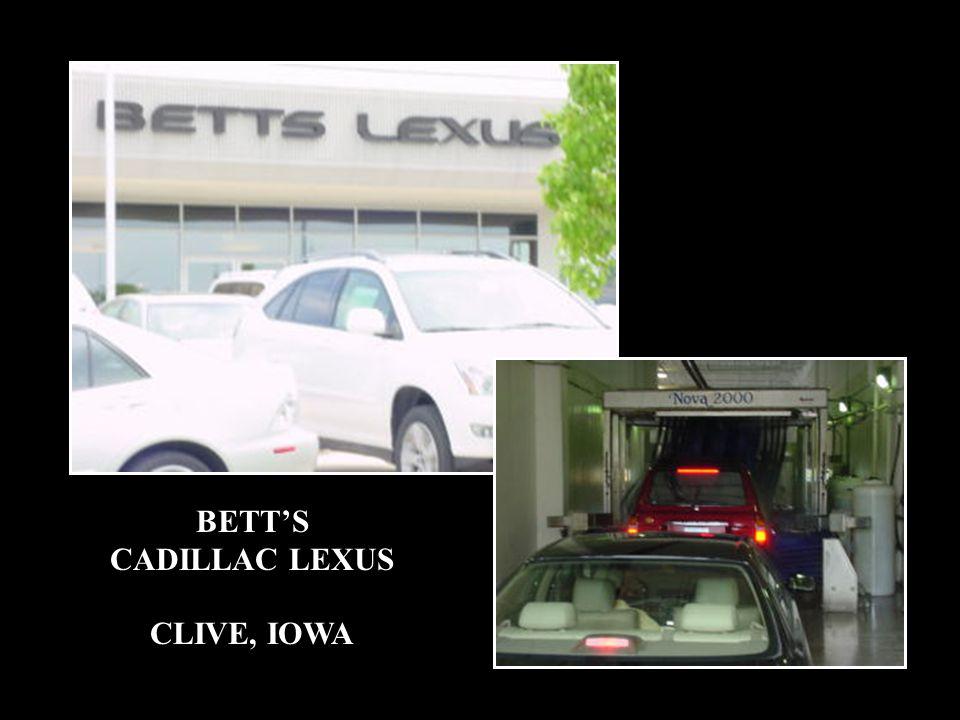 BETT'S CADILLAC LEXUS CLIVE, IOWA