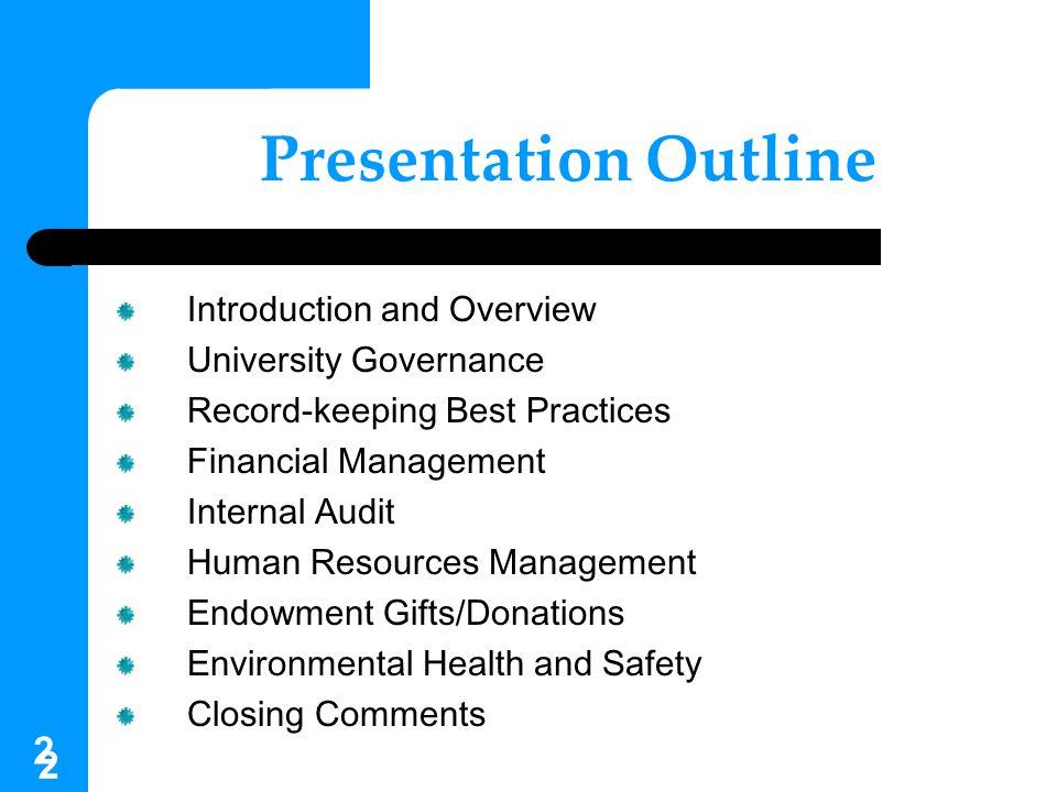 33 Digital Permanence Projects University-Wide Classification Scheme Scanning Standard Governance Online Email Management