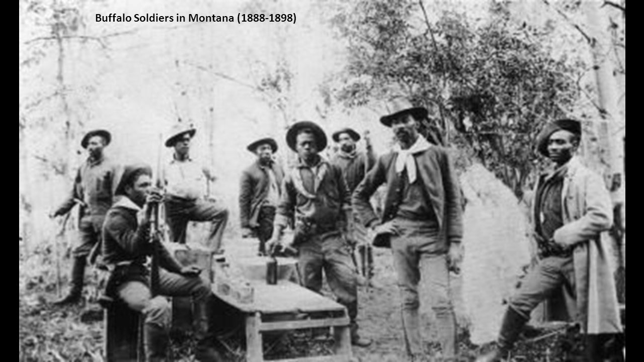 Buffalo Soldiers in Montana (1888-1898)