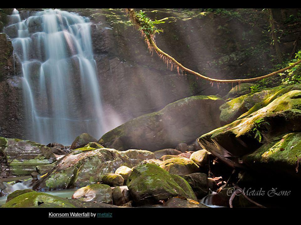 Kionsom Waterfall by metalzmetalz
