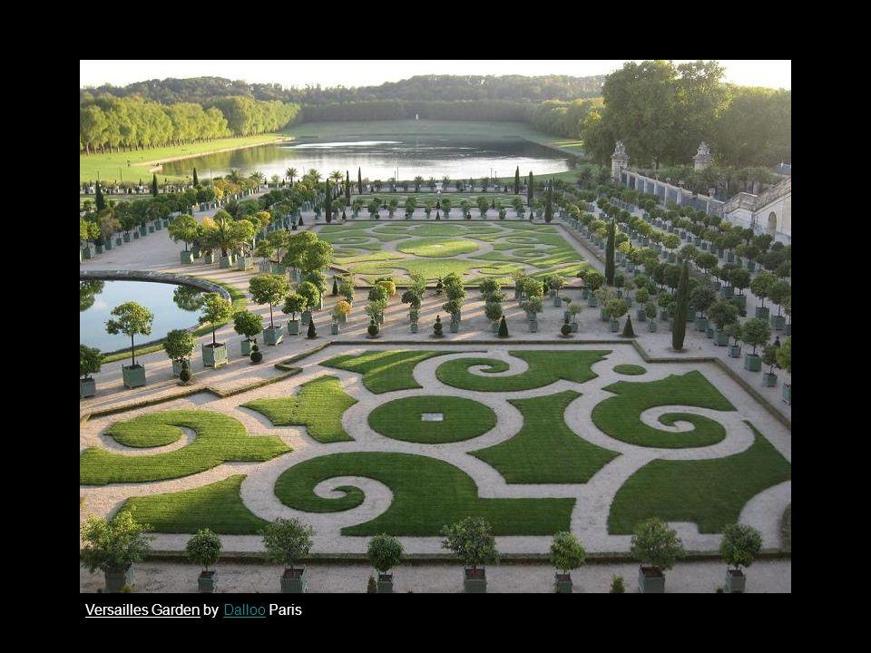 Versailles Garden by Dalloo ParisDalloo