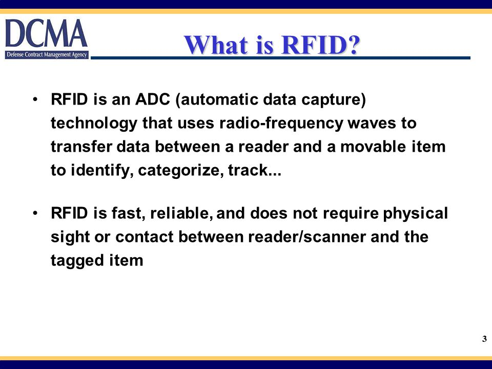 34 RFID Tag Placement Passive RFID tags may be integrated into the MSL Placement of RFID enabled address labels or separate RFID tags