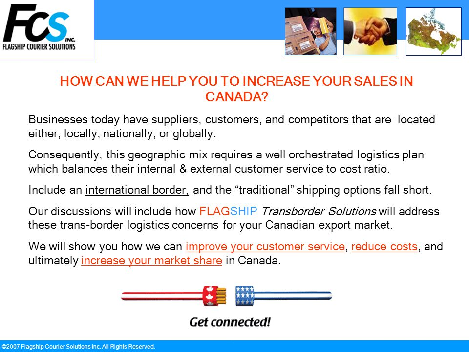 ` ©2007 Flagship Courier Solutions Inc. All Rights Reserved.
