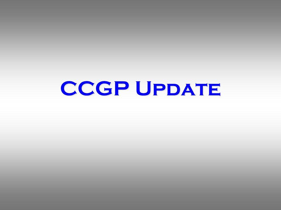 CCGP Update