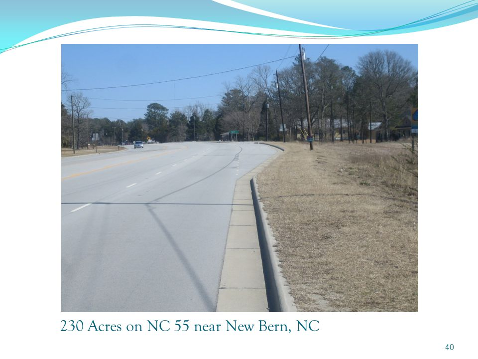 230 Acres on NC 55 near New Bern, NC 39