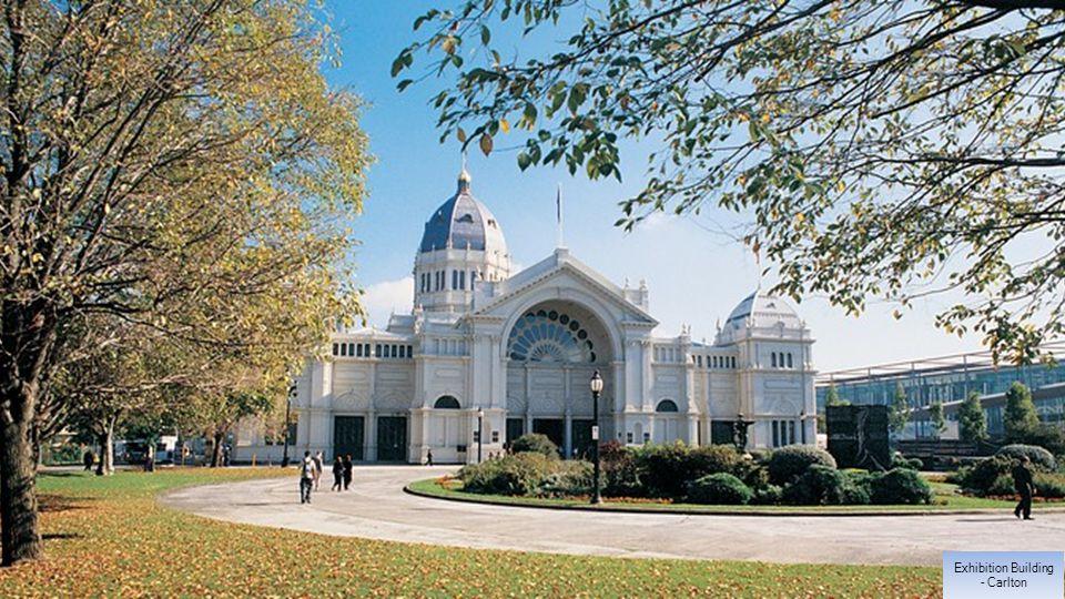Exhibition Building - Carlton