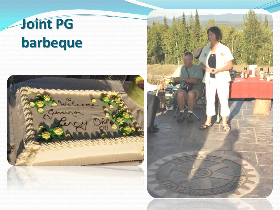Joint PG barbeque