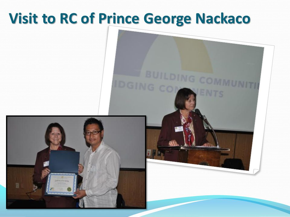 Visit to RC of Prince George Nackaco