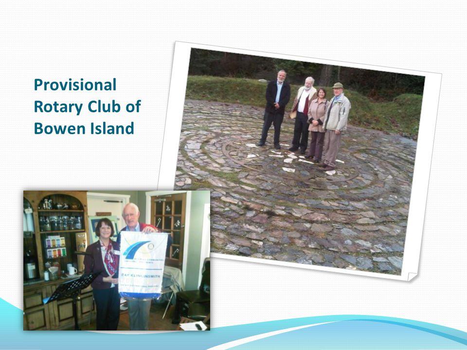 Provisional Rotary Club of Bowen Island