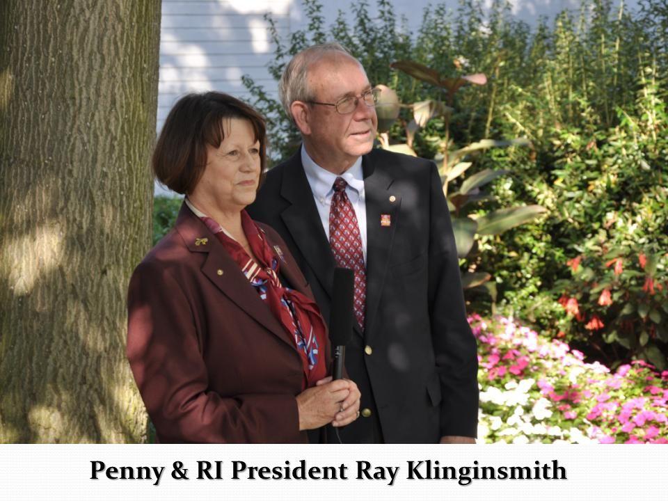 Penny & RI President Ray Klinginsmith