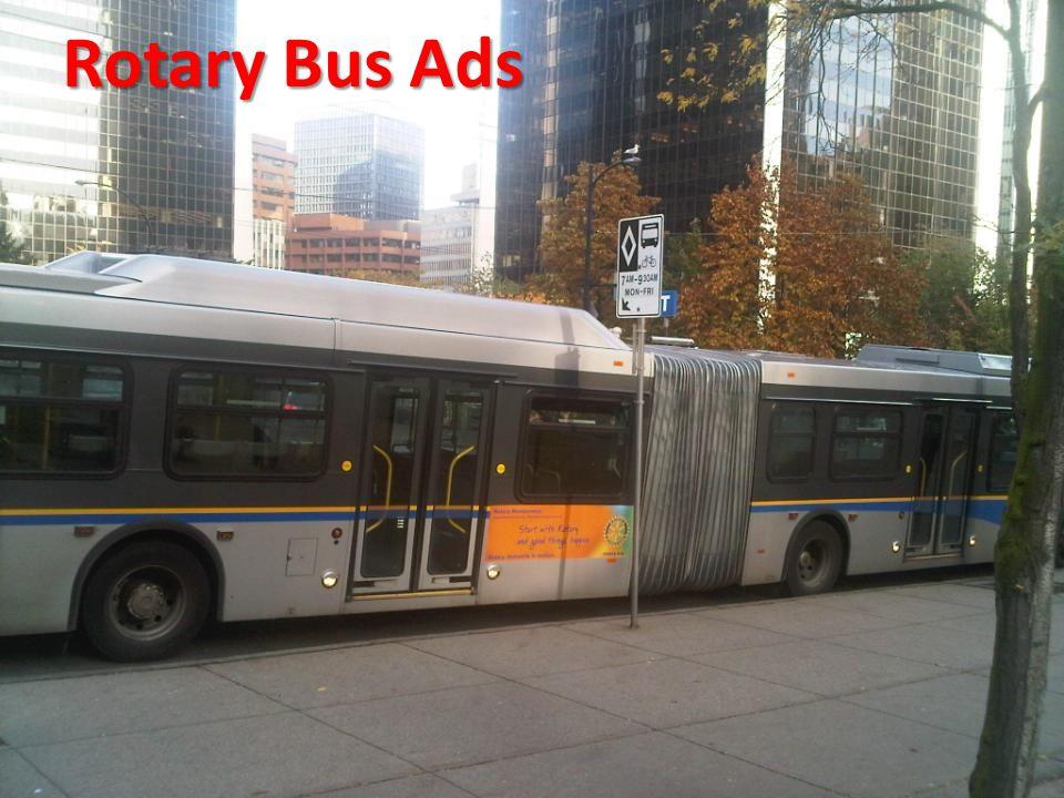 Rotary Bus Ads