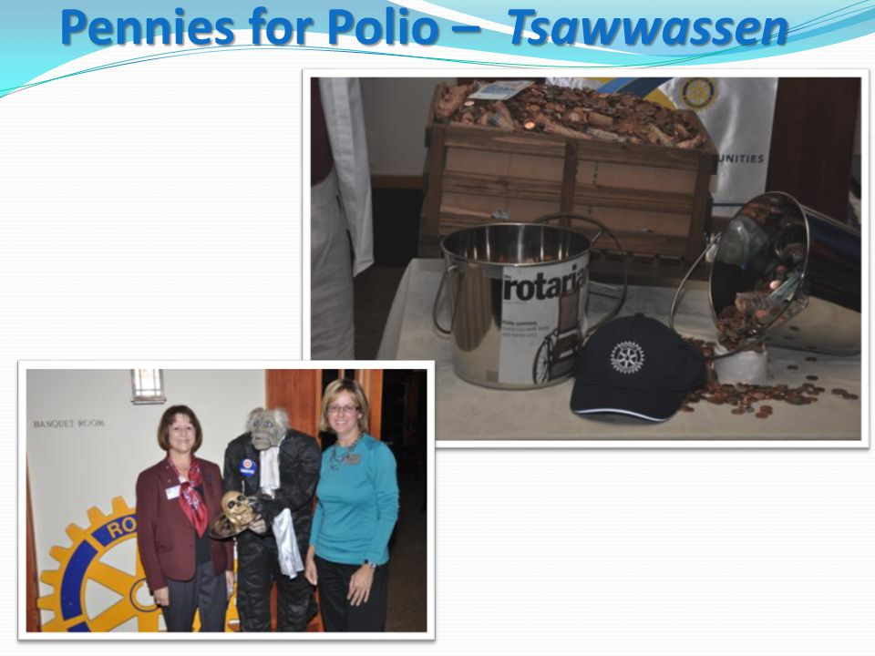 Pennies for Polio – Tsawwassen
