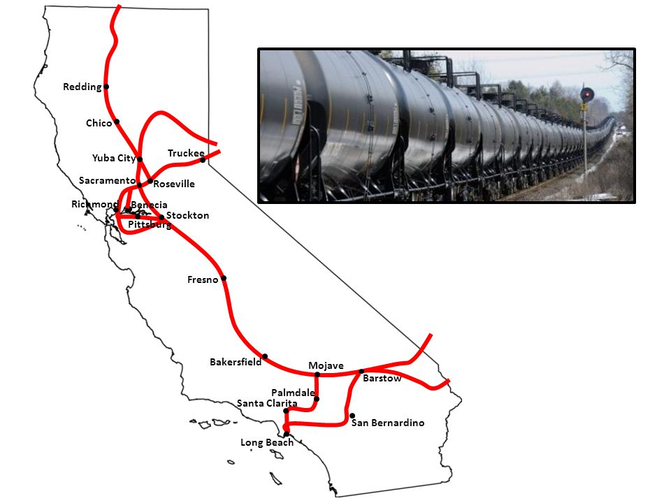 Sacramento Stockton Roseville Truckee Redding Richmond Benecia Pittsburg Bakersfield Long Beach Santa Clarita Yuba City San Bernardino Barstow Mojave