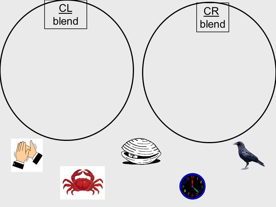 CL blend CR blend