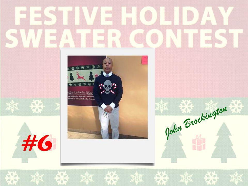 #6 John Brockington