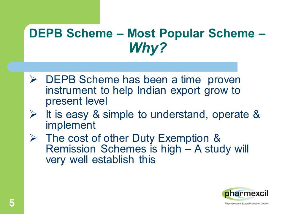 5 DEPB Scheme – Most Popular Scheme – Why.