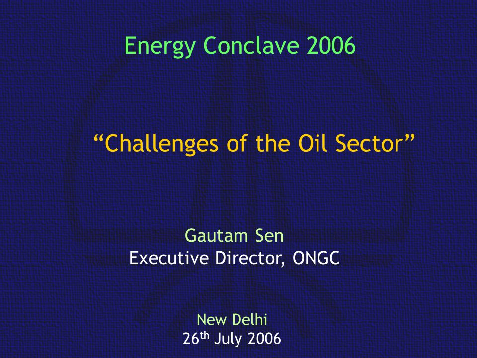 8 IOR/ EOR projects completed (Rs 1,703 Crore) 10 under implementation (Rs 12,138 Crore) ONGC has identified 25 IOR Projects other medium fields Contribution of IOR/ EOR Schemes in 15 major fields Thrust areas: Improving Recovery factor E&P Scenario…ONGC