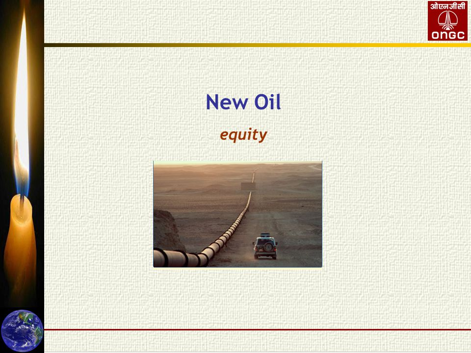 New Oil equity