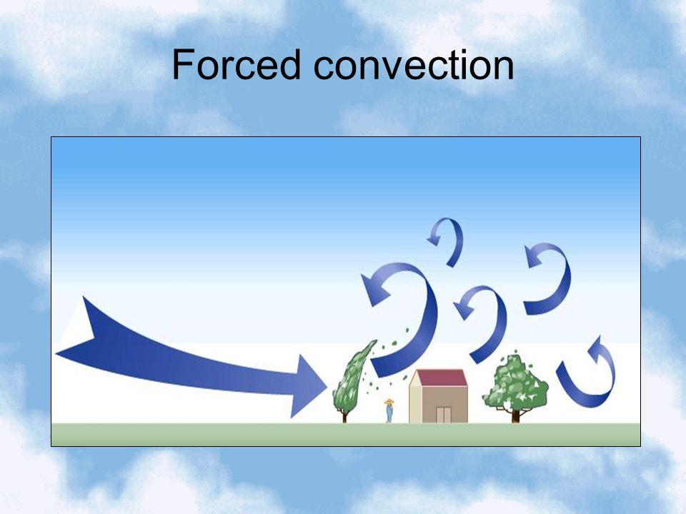 Convection Sensible heat – heat that you can sense (feel) i.e.