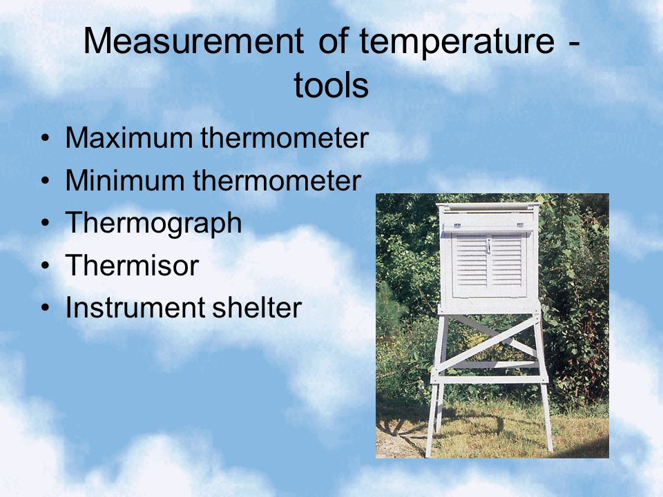 Temperature and human comfort – wind chill