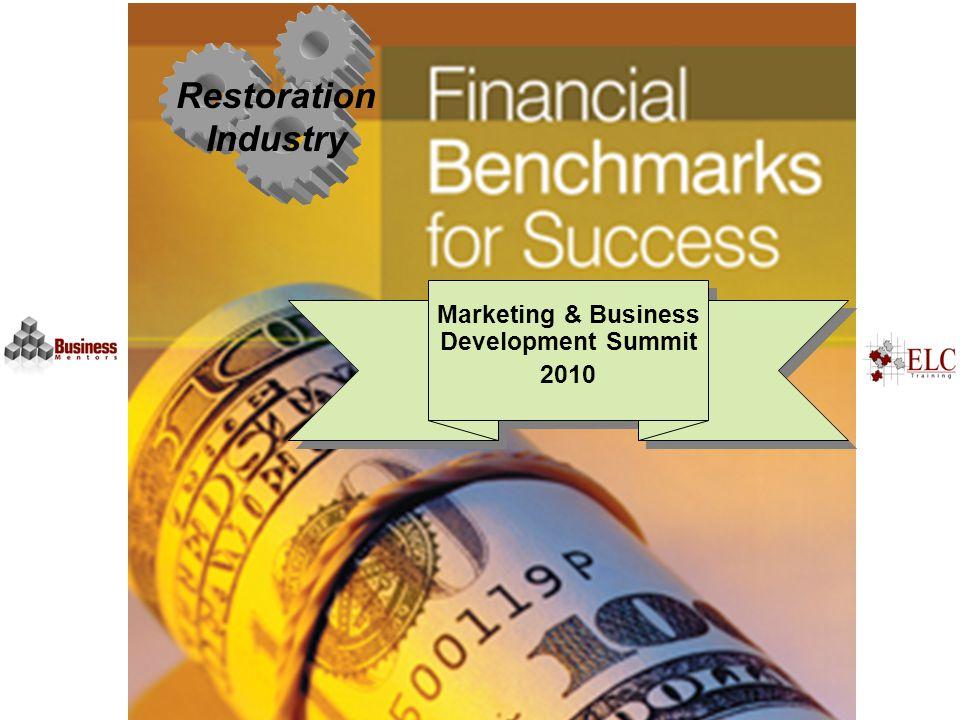 Restoration Industry Marketing & Business Development Summit 2010