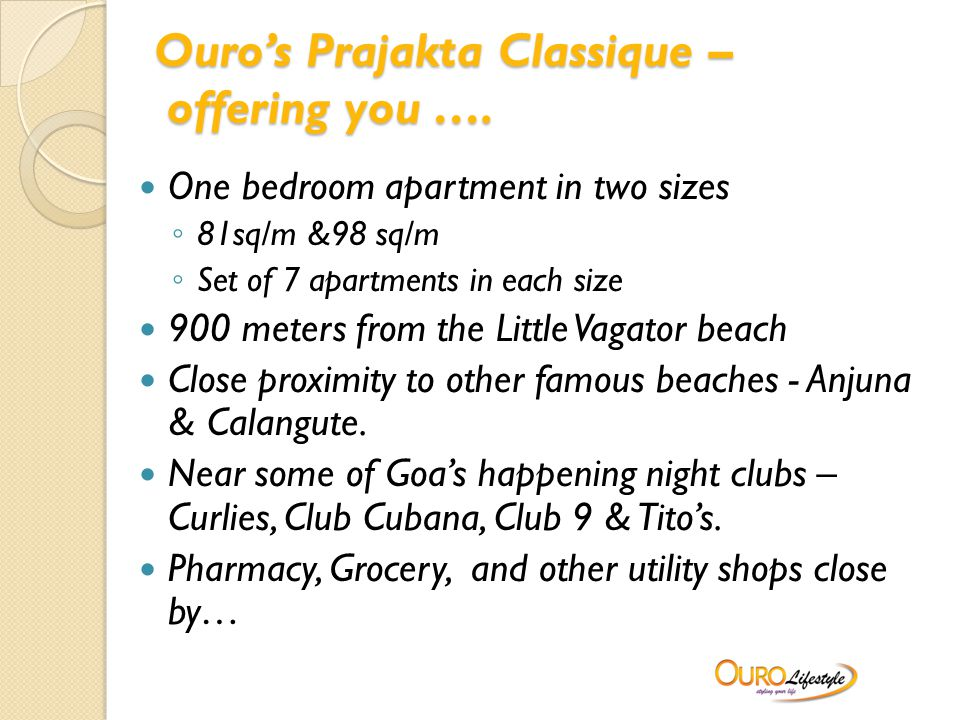 Ouro's Prajakta Classique – offering you ….