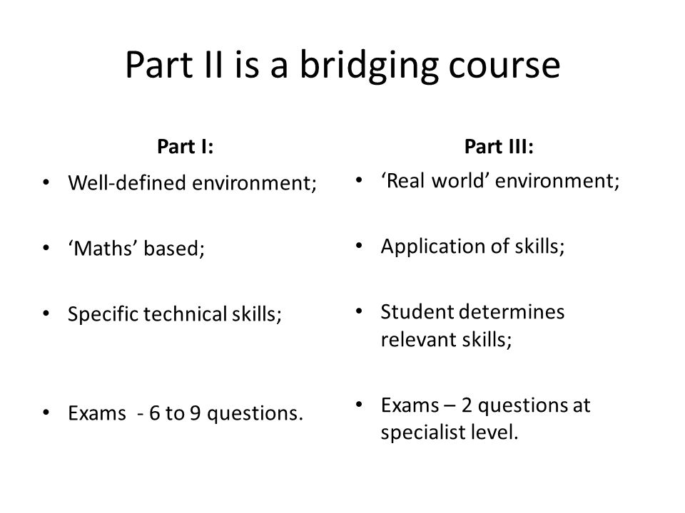 How does Part II fit into path to Fellowship.Part II is not a hard Part 1 exam.