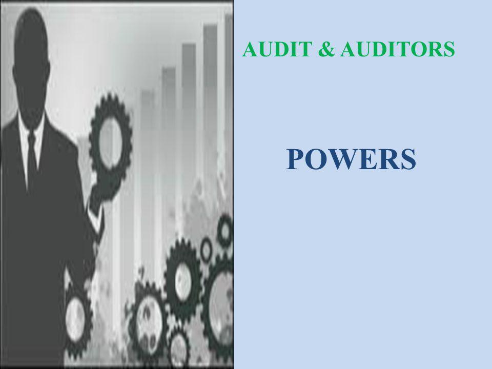POWERS AUDIT & AUDITORS