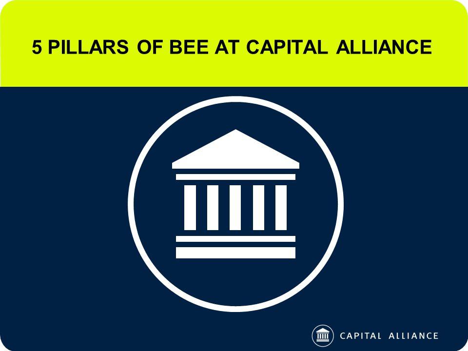 5 PILLARS OF BEE AT CAPITAL ALLIANCE