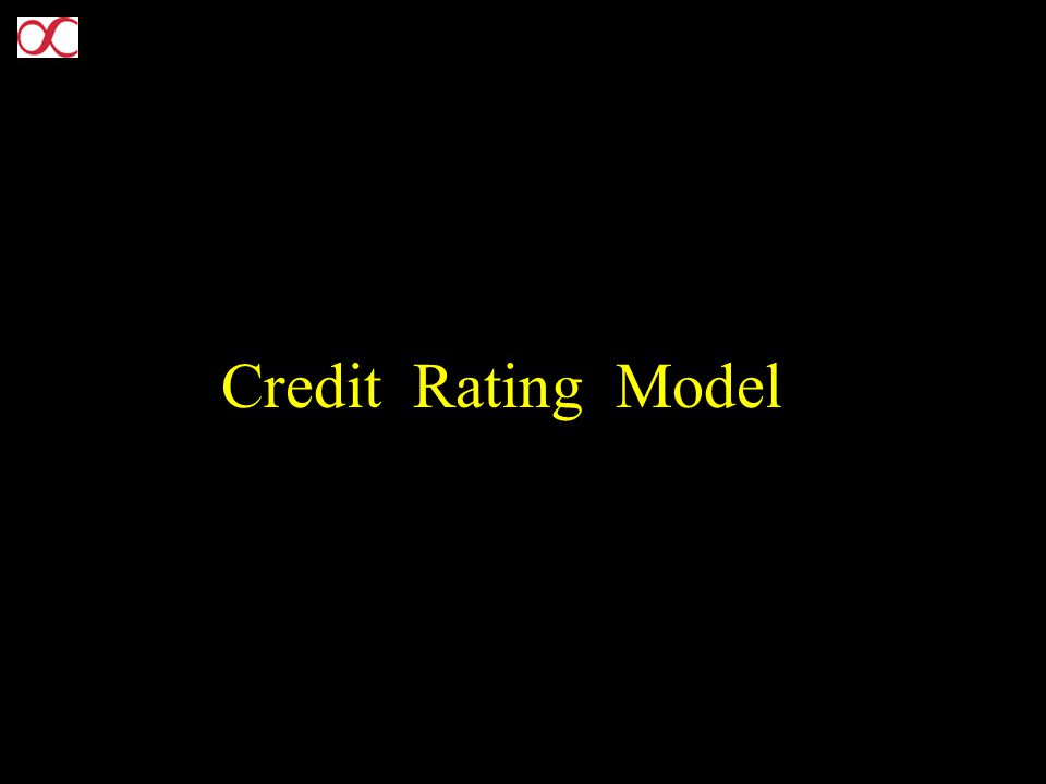 Credit Rating Model
