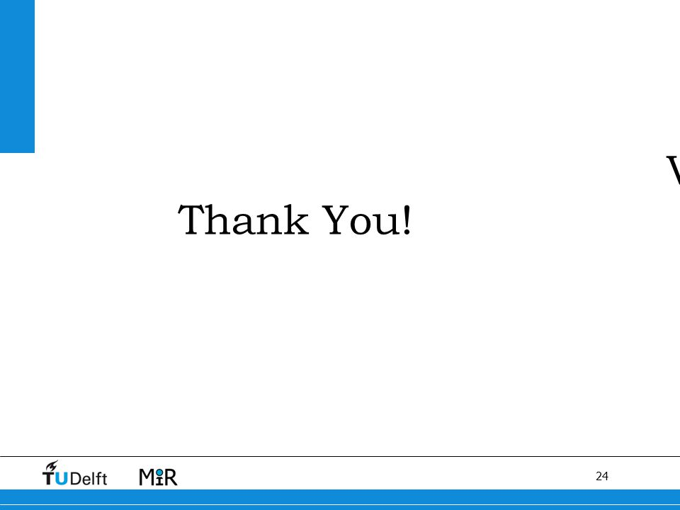 24 V Thank You!