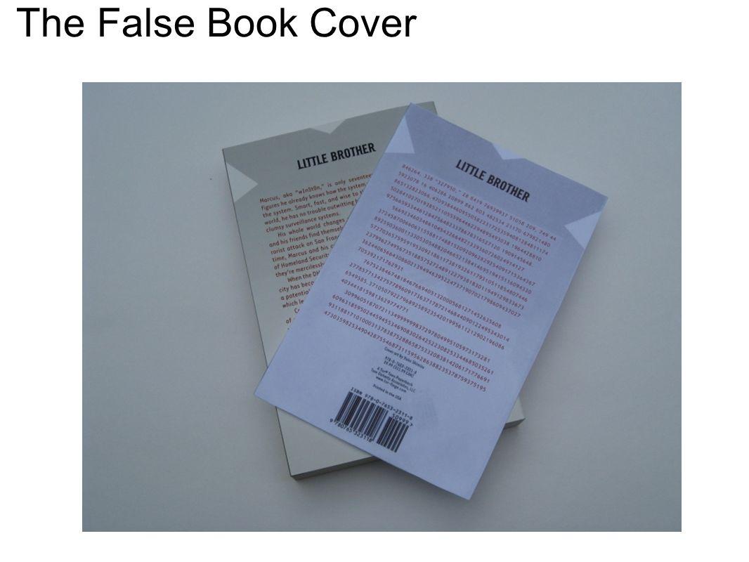 The False Book Cover