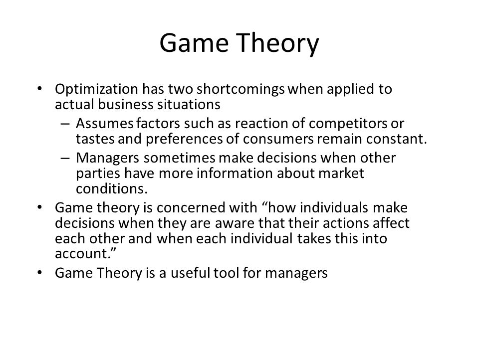Application of Infinitely repeated games (product quality) Firm Consumers