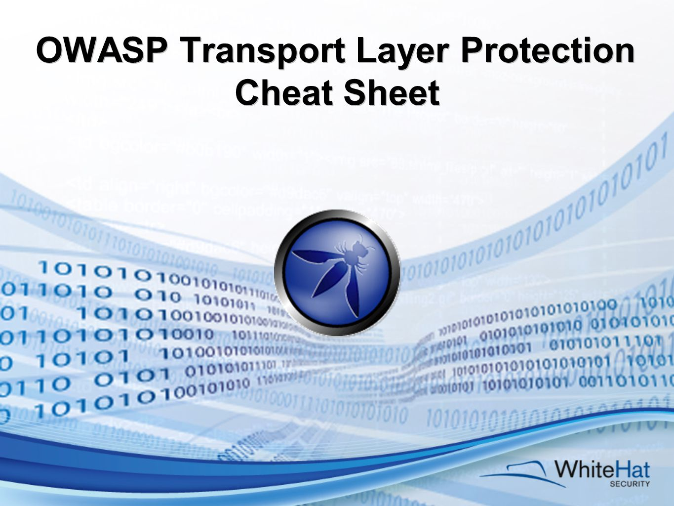 OWASP Transport Layer Protection Cheat Sheet