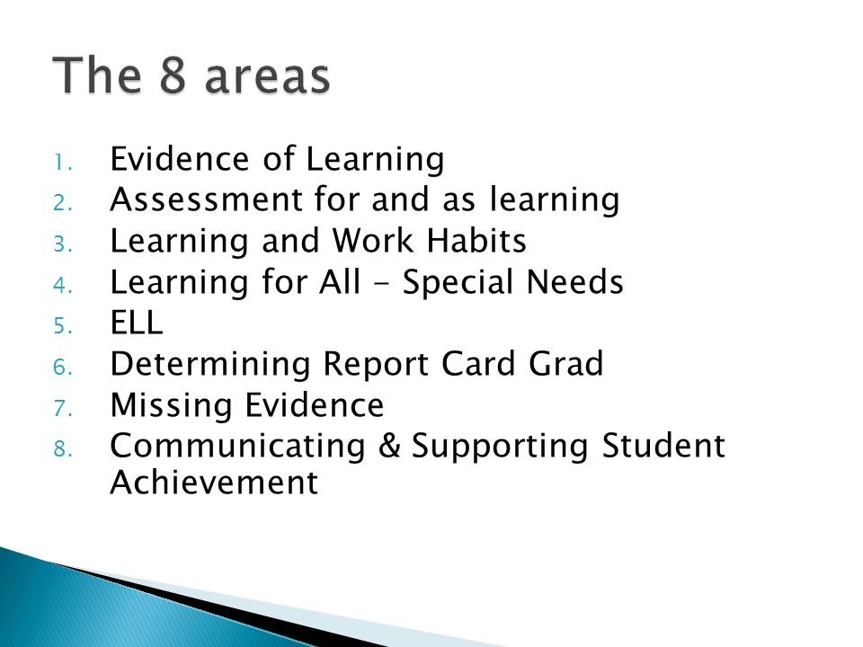1.2.2 Plan student activities that will elicit the required evidence of learning; 1.2.3 Use a variety of age/grade appropriate strategies to teach students academic honesty and research skills; 1.2.4 Use a variety of age/grade appropriate strategies to motivate students and facilitate learning.
