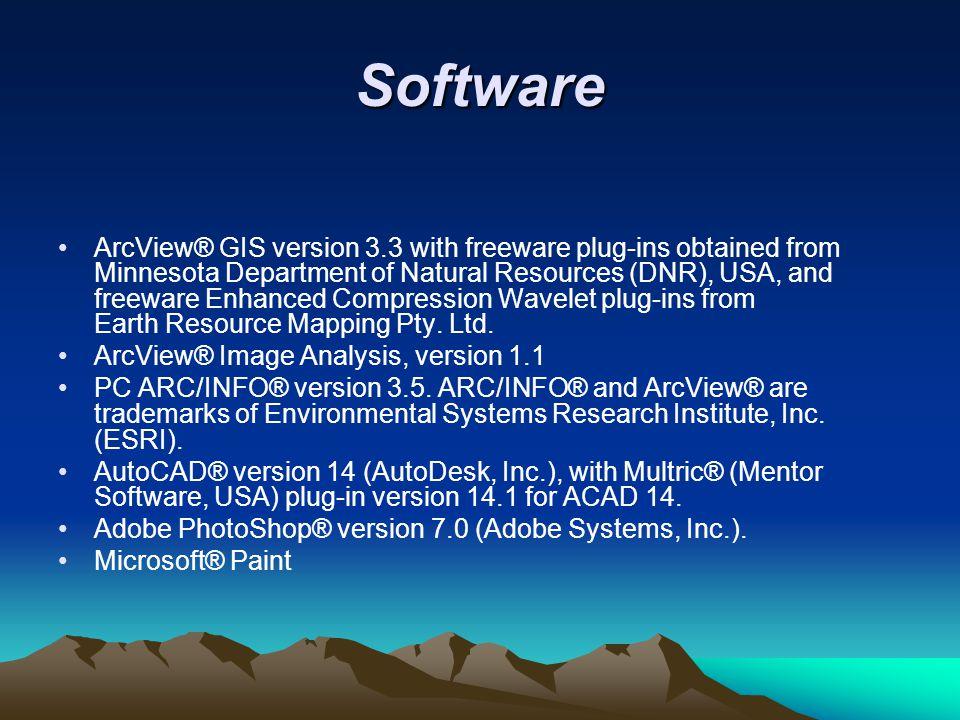 Hardware Desktop computer based on the latest Intel Core 2 Duo chip, 2 Gb RAM, 120 Gb HD, running on MS Windows XP professional.