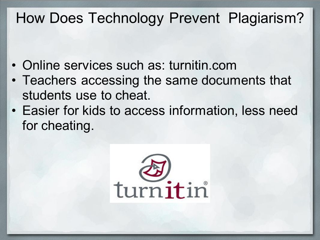 How Does Technology Prevent Plagiarism.