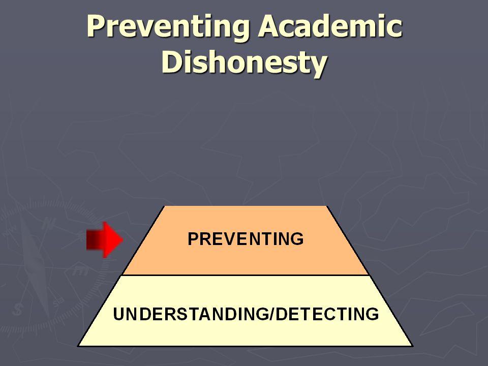 Preventing Academic Dishonesty