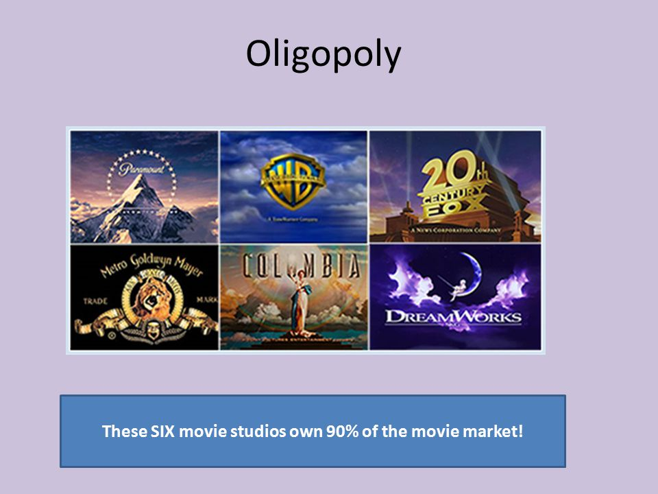 What is so unique about the firms in an oligopoly market structure?