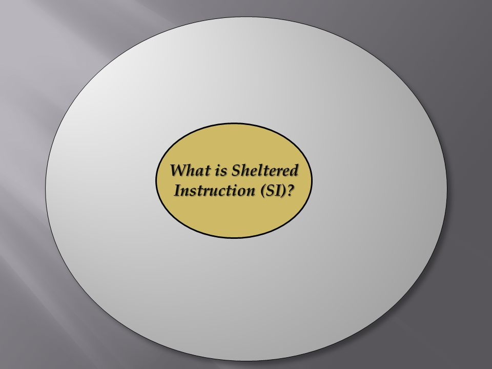 What is Sheltered Instruction (SI)